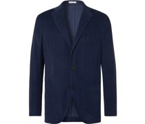 Kei Slim-Fit Unstructured Cotton-Corduroy Blazer