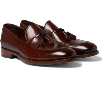 Haring Polished-leather Tasselled Loafers