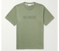 Johannes Logo-Print Organic Cotton-Jersey T-Shirt