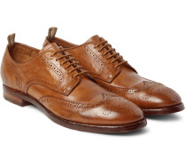Princeton Washed-leather Wingtip Brogues