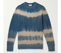 Tie-Dyed Wool-Blend Sweater