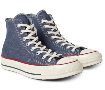 1970s Chuck Taylor All Star Denim High-top Sneakers