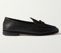 Marphy Woven Leather Loafers