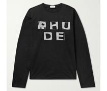 Haus Logo-Print Cotton-Jersey T-Shirt