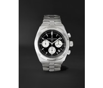 Overseas Automatic Chronograph 42.5mm Stainless Steel Watch, Ref. No. 5500V/110A-B481