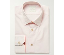 Soho Slim-Fit Cotton-Poplin Shirt