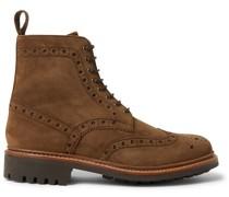 Fred Nubuck Brogue Boots