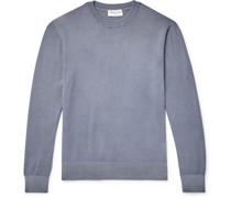Neils Garment-Dyed Loopback Cotton-Jersey Sweatshirt