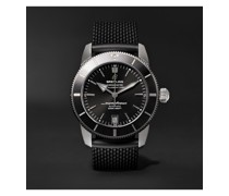 Superocean Heritage B20 Automatic 42mm Stainless Steel and Rubber Watch, Ref. No. AB2010121B1S1