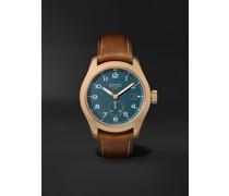 Broadsword Bronze Sotek Automatic 40mm Bronze and Nubuck Watch, Ref. BROADSWORD-BZ-GR
