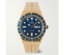 Q Timex Reissue 38mm Gold-Tone Watch