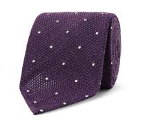 8cm Polka-dot Wool And Silk-blend Tie