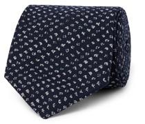 8cm Cotton-Jacquard Tie
