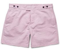 Paraty Slim-fit Mid-length Printed Swim Shorts