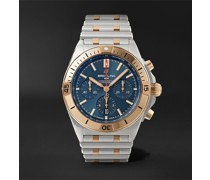 Chronomat B01 Automatic Chronograph 42mm Stainless Steel and 18-Karat Red Gold Watch, Ref. No. UB0134101C1U1