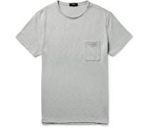 Jeso Slim-fit Knitted Slub Cotton-blend T-shirt