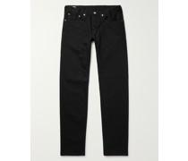 Kaihara Slim-Fit Tapered Selvedge Denim Jeans
