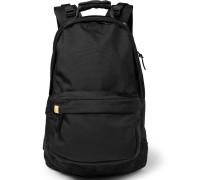 Ballistic Suede-trimmed Cordura Backpack