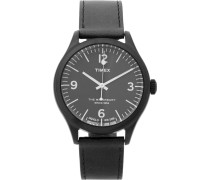 Waterbury Stainless Steel And Leather Watch