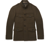 Slim-fit Wool-felt Field Jacket