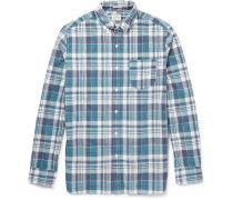 Farnsworth Slim-fit Madras Check Cotton Shirt