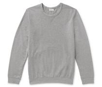 Anton Mélange Loopback Cotton-jersey Sweatshirt