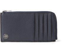 Full-grain Leather Zip-around Cardholder