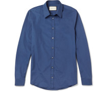 Slim-fit Cotton-poplin Shirt