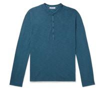 Harrison Cotton-Jersey Henley T-Shirt