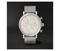 Portofino Automatic Chronograph 42mm Stainless Steel Watch, Ref. No. IW391028