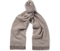 Two-tone Wool Scarf
