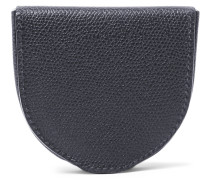 Tallone Pebble-grain Leather Coin Wallet