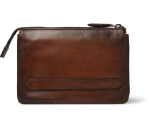 Tersio Polished-leather Pouch
