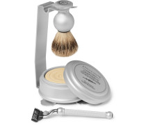 Oxford & Cambridge Shaving Set And Stand