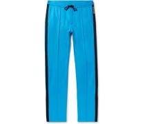 Stripe-trimmed Jersey Trousers