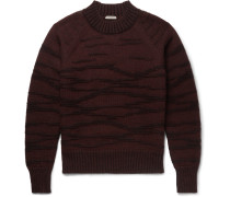 Distressed Wool Sweater