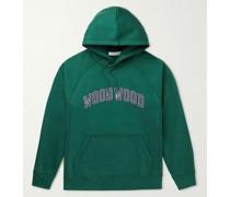 Fred Logo-Print Organic Cotton-Jersey Hoodie