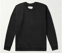 Louis Organic Loopback Cotton-Jersey Sweatshirt