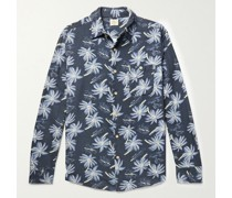 The Chamois Printed Brushed-Cotton Shirt