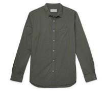 Lipp Slim-Fit Pigment-Dyed Cotton Shirt