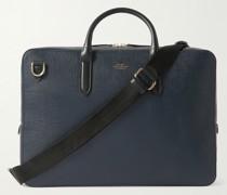 Panama Cross-Grain Leather Briefcase