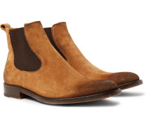 Bristol Oiled-suede Chelsea Boots