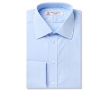 Pink Double-Cuff Cotton Shirt