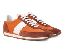 Orford Leather And Suede-trimmed Nylon Sneakers