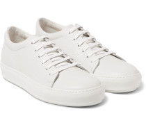 Adrian Grained-leather Sneakers