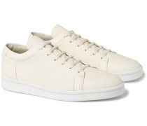 Grained-leather Sneakers
