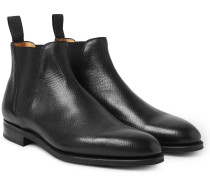 Camden Cross-grain Leather Chelsea Boots