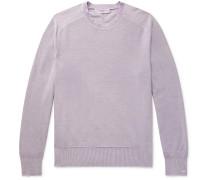 Lance Slim-Fit Garment-Dyed Cotton Sweater