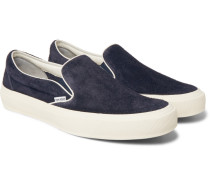 Cambridge Suede Slip-on Sneakers