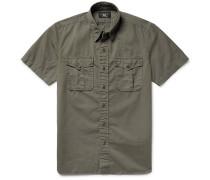 Brushed Cotton-twill Shirt